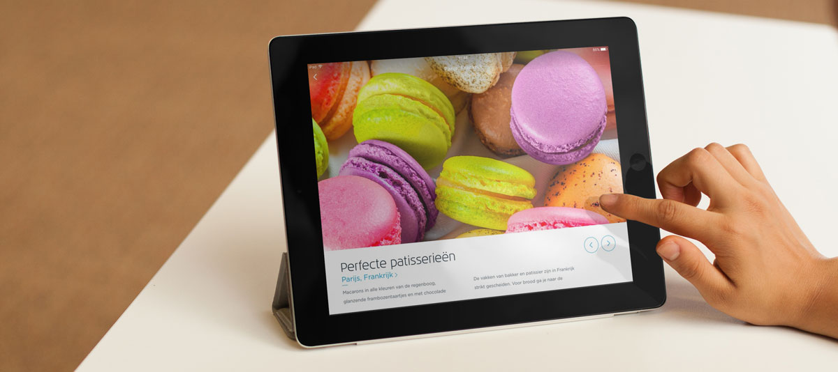 KLM vernieuwde app op de iPad