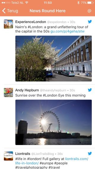 Round Here is leuk om te proberen als je een weekendje naar Londen gaat.