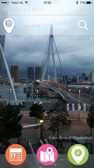 Ook steden als Rotterdam en Utrecht zijn in de app vertegenwoordigd.