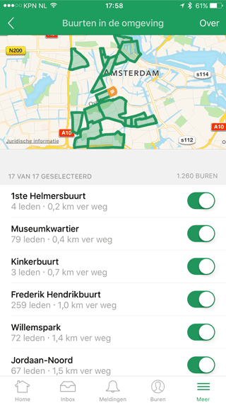 Nextdoor: buurten in Amsterdam