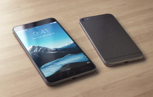 iPhone 7 concept zonder camerabult en koptelefoonaansluiting.