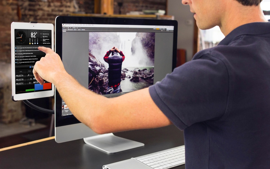 Review Twelve South Hoverbar 3 Hangt De Ipad Naast Je Imac