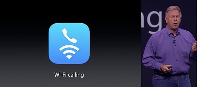 Wi-Fi Calling aankondiging door Phil Schiller