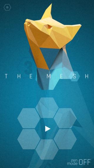 The Mesh is Apple's gratis App van de Week.