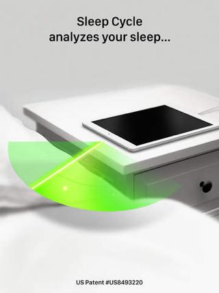 Sleep Cycle Alarm Clock analyseert je slaap op de iPad.