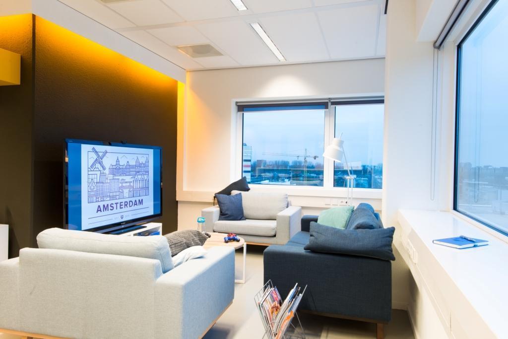 Dropbox-kantoor in Amsterdam.