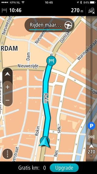 TomTom GO Mobile: 2D kaarten