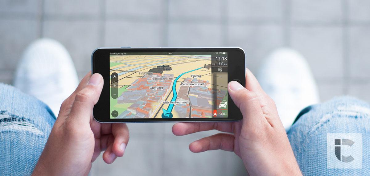 TomTom GO Mobile, foto door iCulture