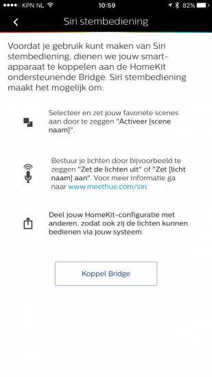 HomeKit handleiding: Stembediening inschakelen in Philips Hue.