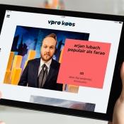 VPRO Koos op de iPad met Arjen Lubach.