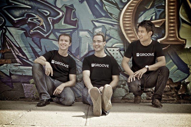 Oprichters van muziekdienst Groove, nu overgenomen door Microsoft