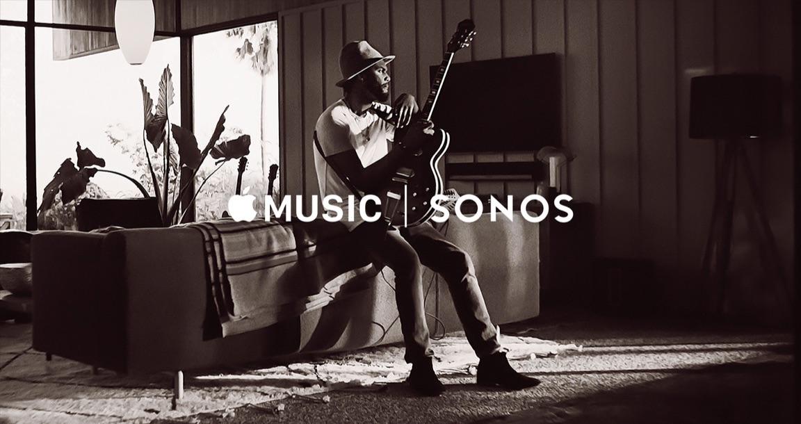 Sonos en Apple Music