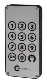 Invited keypad voor deurslot