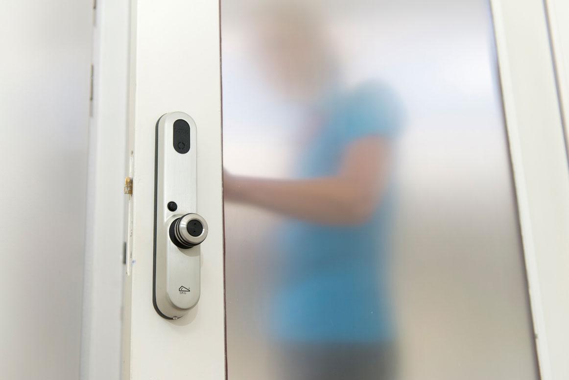 Invited deurslot op binnendeur