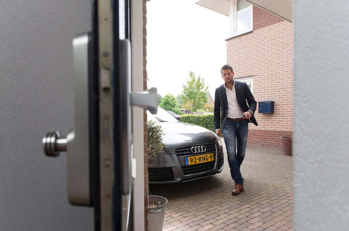 Invited deurslot met afstandsbediening