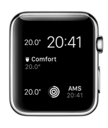 Complicatie met de Apple Watch-app van ThermoSmart.