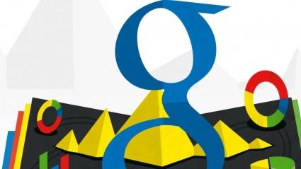 Google-logo kleuren