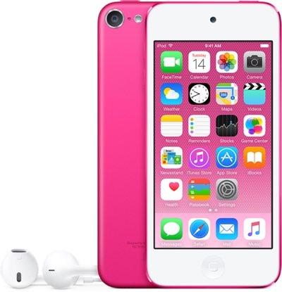Roze iPod touch 6e generatie