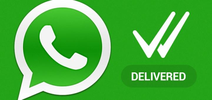 WhatsApp bericht gelezen