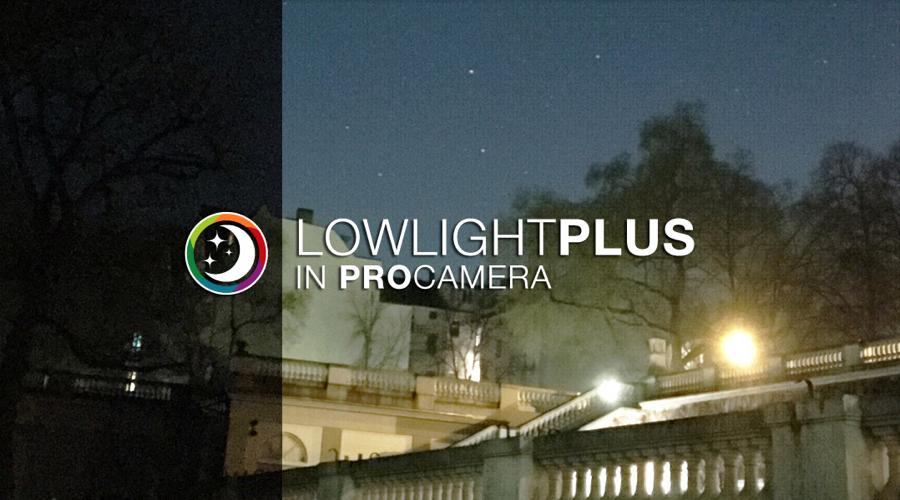 LowLight Plus van ProCamera
