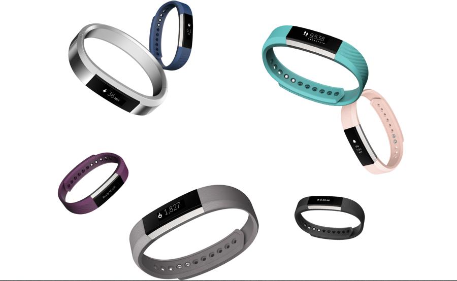 Fitbit Alta met verschillende bandjes