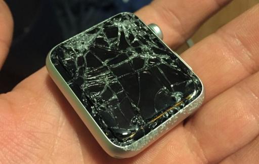 Apple Watch scherm kapot