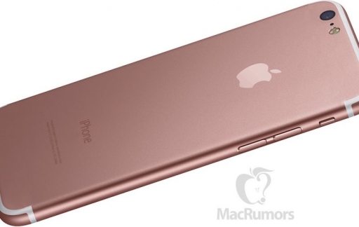 iPhone 7 render met niet -uitstekende camera, geen antennestrepen