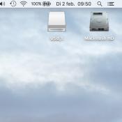 Verberg icoontjes voor een schoon bureaublad op je Mac