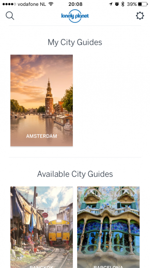 Guides by Lonely Planet met stadsgidsen.