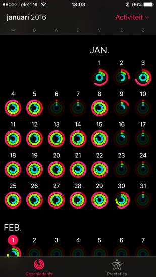 Apple Watch-ringen Lars in januari 2016.