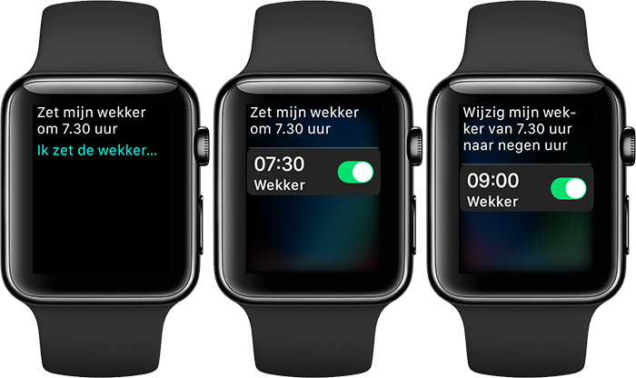 Apple Watch: wekker instellen