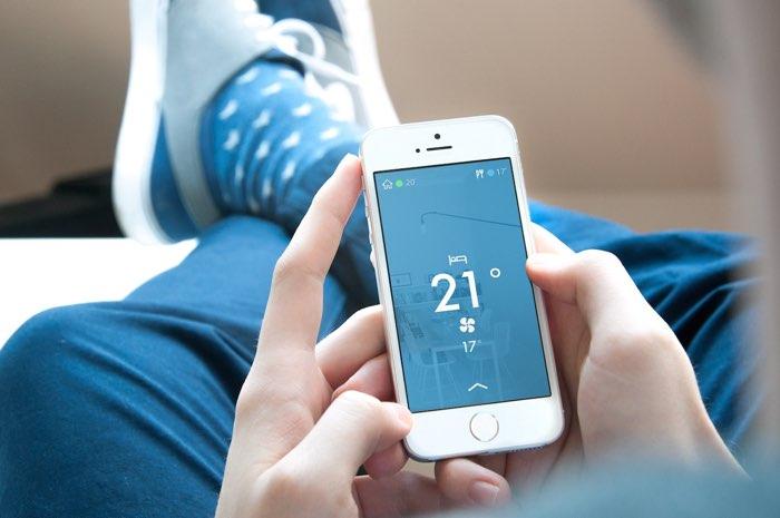 Slimme thermostaat, de app van Tado