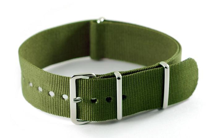 NATO horlogebandje legergroen