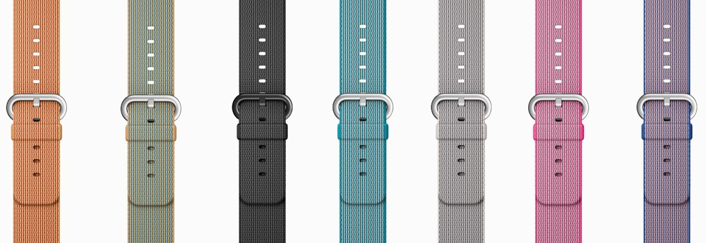 Apple Watch nylon bandjes in diverse kleuren