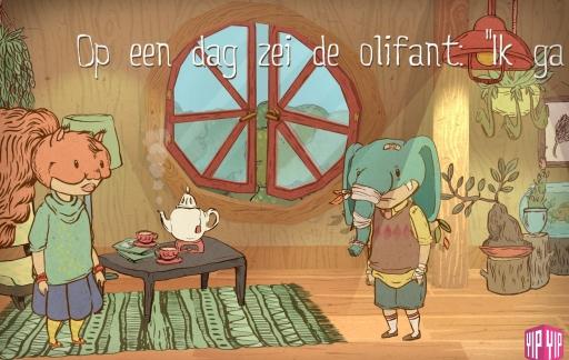 Toon Tellegen, de olifant gaat op een Verre Reis.