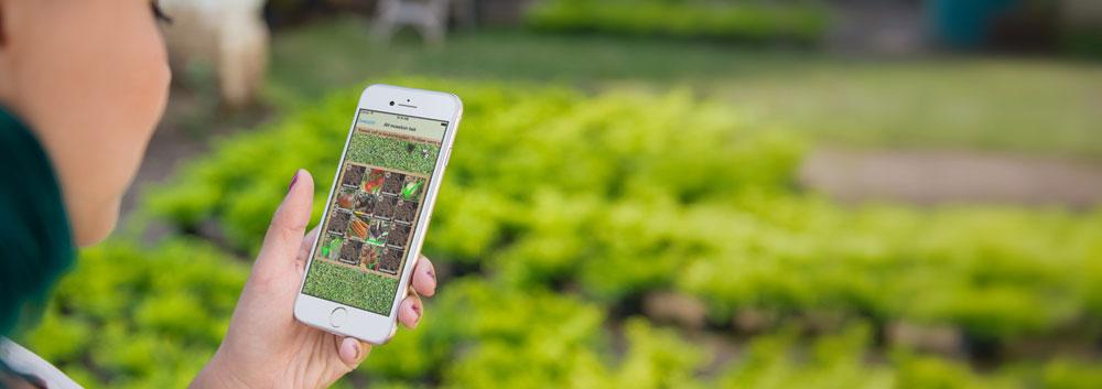 Moestuintje apps op de iPhone