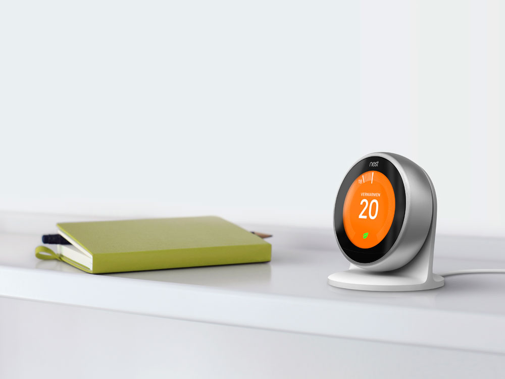 Nest thermostaat houder