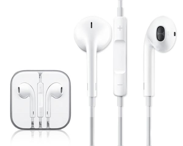 Apple EarPods voor iPhone, iPad en iPod.