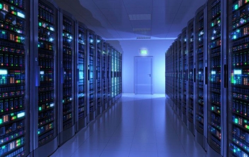 Apple datacenter met eigen servers