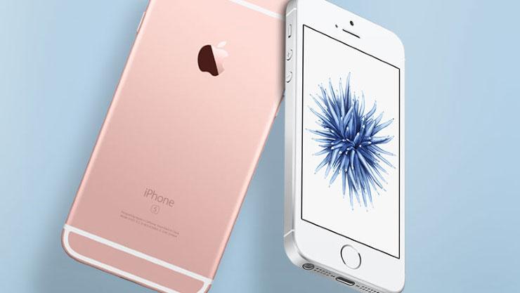 iPhone SE vergelijking iPhone 6s