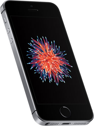 iPhons SE spacegrijs