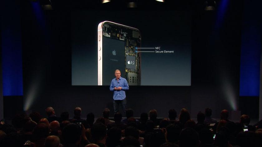 iPhone SE NFC-chip
