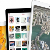 iPad line-up met iPad mini en twee formaten iPad Pro.