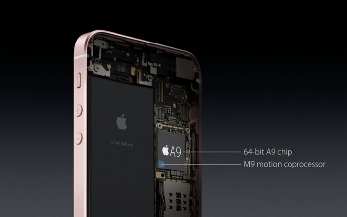 iPhone SE A9-chip