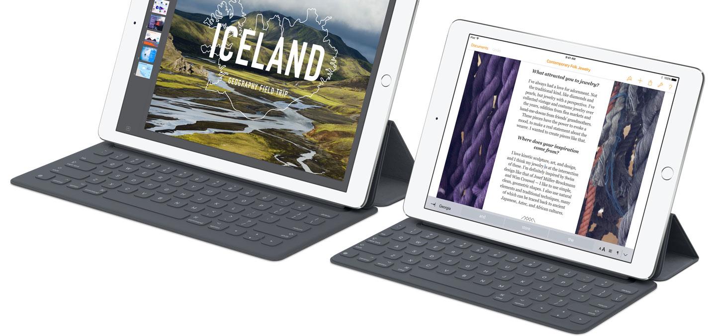 iPad Pro toetsenborden
