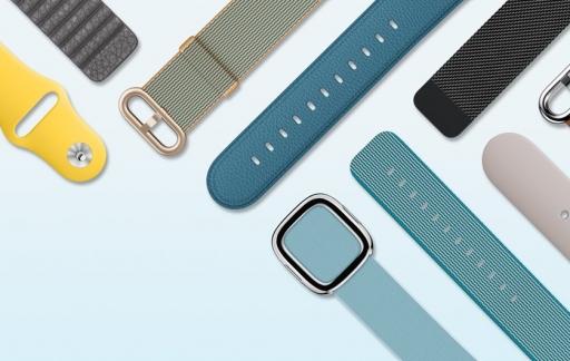 Nieuwe Apple Watch bandjes in nieuwe kleuren.