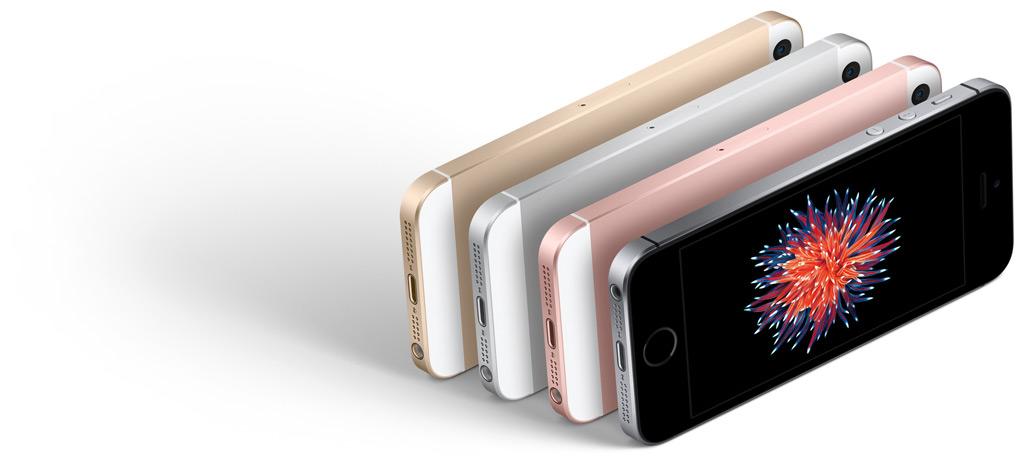 iPhone SE groot