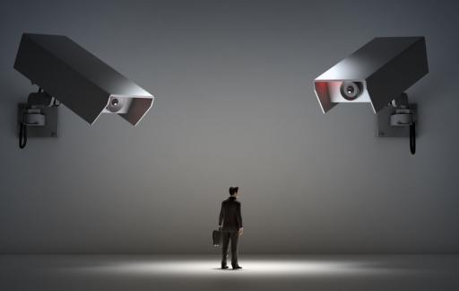 Privacy-camera's, foto via Shutterstock (shutterstock_165978410).