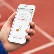 Basketbal spelen in Facebook Messenger