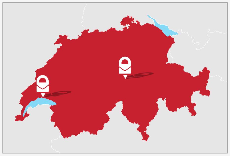 ProtonMail Zwitserland